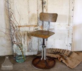 Oude geleefde stoel (133292)