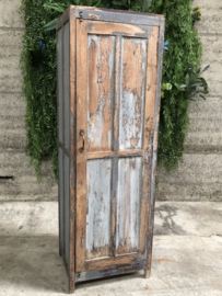 Geleefde houten kast tweezijdig (144500)