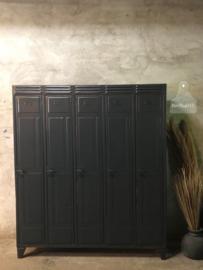 Unieke locker antraciet (143357)