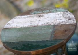 Industriele krukken oud sloophout (130413)..verkocht