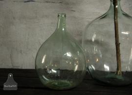 Turquoise gistfles (132372)..verkocht