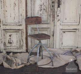 Industriële bureaustoel (133483)....verkocht