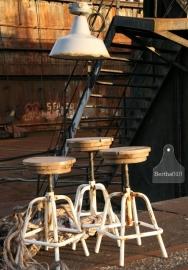 Geleefde industriele hanglamp (130392)..verkocht