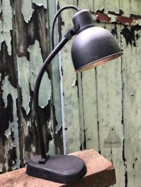 Bureaulamp zwart Bauhaus (142707) verkocht