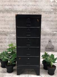 Kleppenkast zwart (143596) verkocht