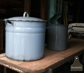 Grote oude pan (130187)..verkocht