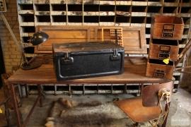 Geleefde ijzeren kist uit 1943 (132485)..verkocht