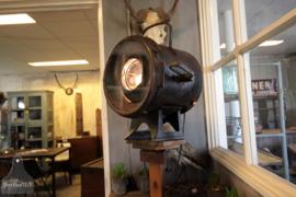 Jaren 30 theaterlamp op statief (133285)....verkocht