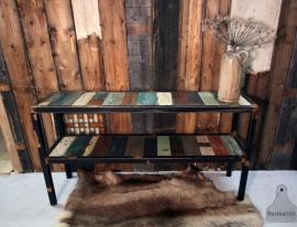 Sloophouten side table, dressoir op maat (130862)