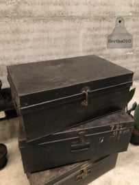 Kist ijzer zwart (144081)