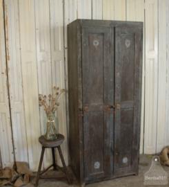 Antieke houten locker (135301) verkocht