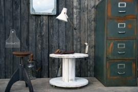 Oude haspeltafel op wieltjes (130186)..verkocht