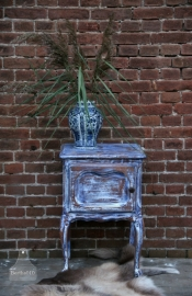 Geleefd kastje Delft blauw (130621)..verkocht