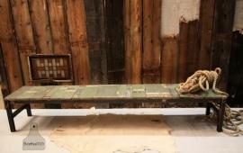 Industriele lage sidetable sloophout (130717)