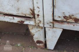 Industriële 2 deurs locker (133584)..verkocht