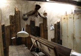 Industriële wandlamp (130872)..verkocht