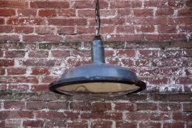 Industriële hanglamp met glas (131052) verkocht