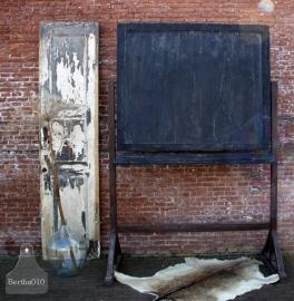 Groot antiek schoolbord, krijtbord (131278) verkocht