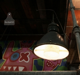Grote fabriekslamp (130835)..verkocht
