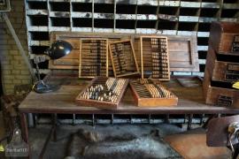 Oud telraam (132486)..verkocht'