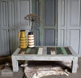 Sloophouten salontafel (131131) verkocht
