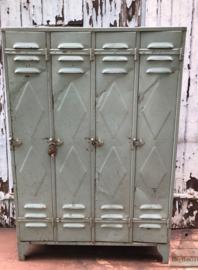 Franse locker met hangslot (138641)