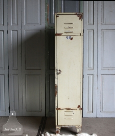Industriële geleefde 1 kast locker (131134)..verkocht