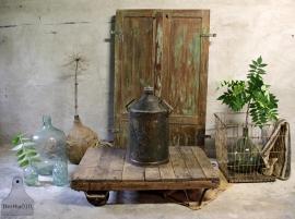 Oud olievat (132141)..verkocht