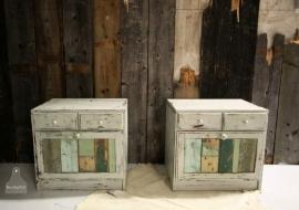 Nachtkastjes sloophout (130671)..verkocht