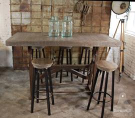 Hoge industriële tafel (134646) verkocht