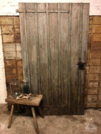 Oude geleefde boerderijdeur (138753)