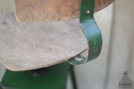 In hoogte verstelbare stoel/kruk (133635)....verkocht