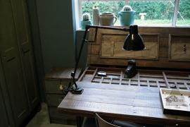 Originele industriële bureaulamp (132276)..verkocht