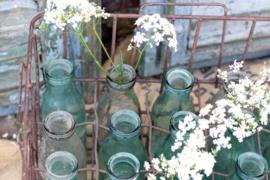 Krat met kleine melkflessen (origineel) (133600)