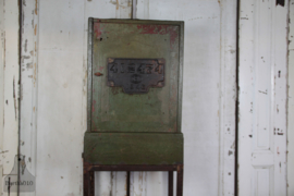 Industriële smalle kast (133515)....verkocht
