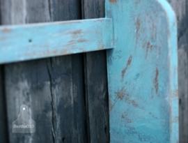 Brocante turquoise rekje (130452) verkocht