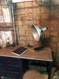 Authentieke industriële bureaulamp (138266)