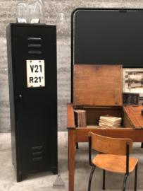Oude fabriekslocker (143985)