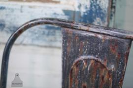 IJzeren verwante Tolix stoel (132844, 132845) verkocht