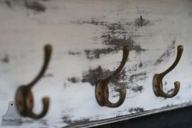 Geleefde kapstok met stang (130488)..verkocht