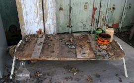 Industriele tafel (130190)..verkocht