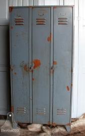 Geleefde 3 deurs locker (131884)...verkocht