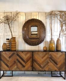 Visgraat dressoir 4 deuren (141802) verkocht