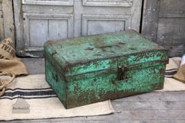 Stoere geleefde reiskoffer (132023)..verkocht
