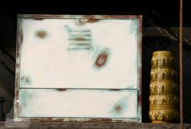 Industriele ijzeren hangkast (130159)..verkocht