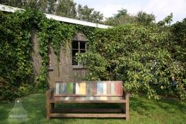 Unieke tuinbank op maat (132505)..verkocht