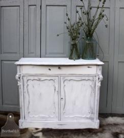 Antiek Biedermeier kastje (131185)..verkocht