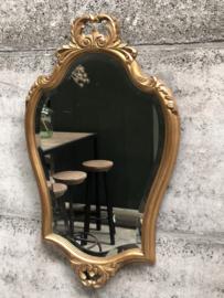 Vintage gouden spiegel (144836)