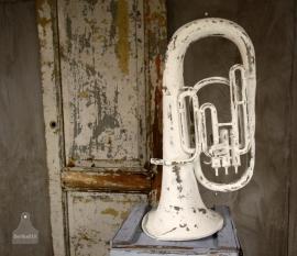 Oude geleefde trompet (130672)..verkocht