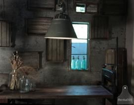 Industriele fabriekslamp (132497)....verkocht